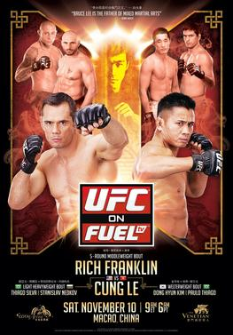 Rich franklin vs cung le betting odds