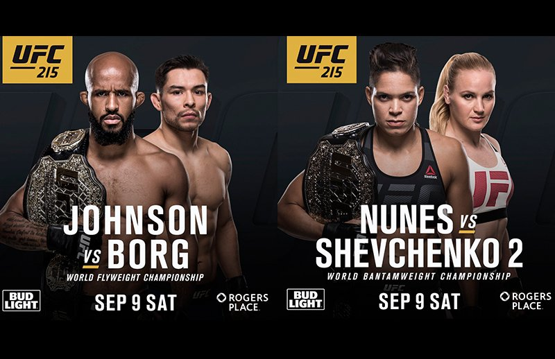 UFC 215: Free Prediction