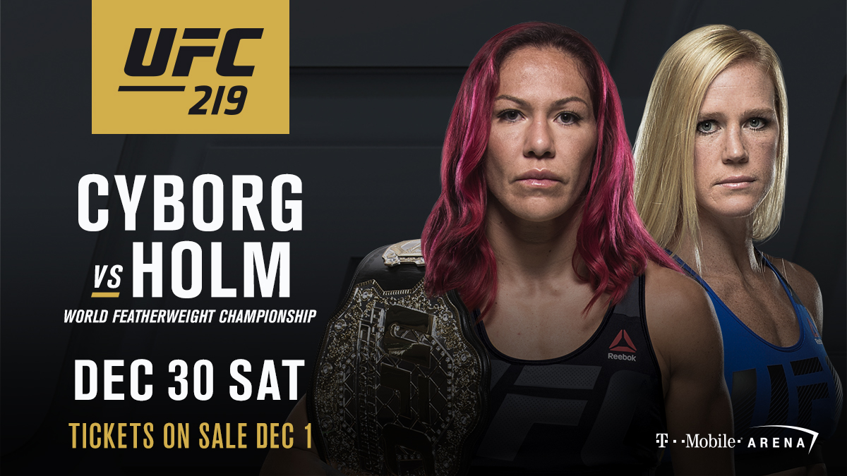 UFC 219: Free Prediction