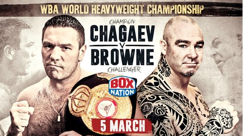 BOXING: Chagaev vs. Brown & Douglas vs. Khurtsiidze